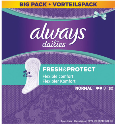 Inlegkruisjes daily fresh & protect normaal