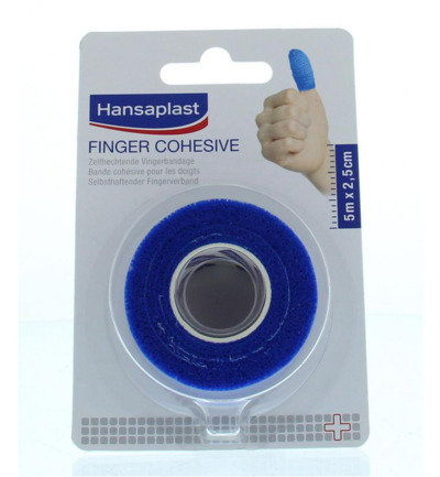 Sport cohesive finger tape