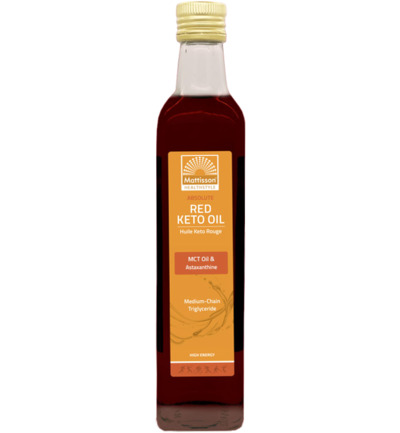 Absolute Red keto oil - MCT oil & astaxanthine