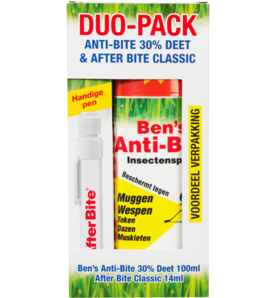 Image of Afterbite Duo Pack Afterbite & Anti-bite Spray 30% Deet (1st)