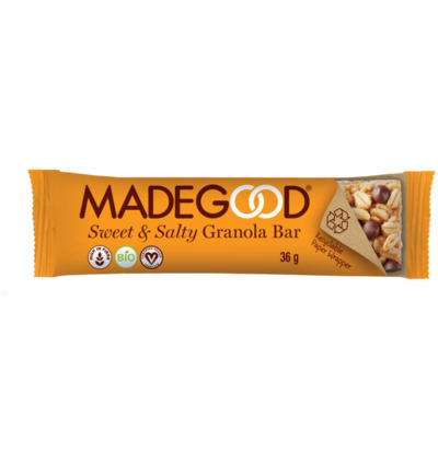 Granola bar sweet & salty bio
