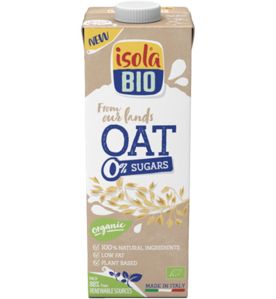 Oat no sugar bio