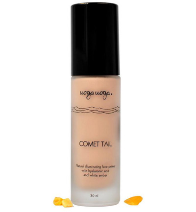 Comet tail illuminating primer