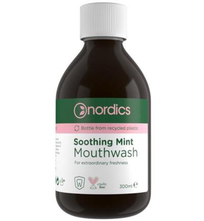 Image of Nordics Mouthwas Soothing Mint (300ml)