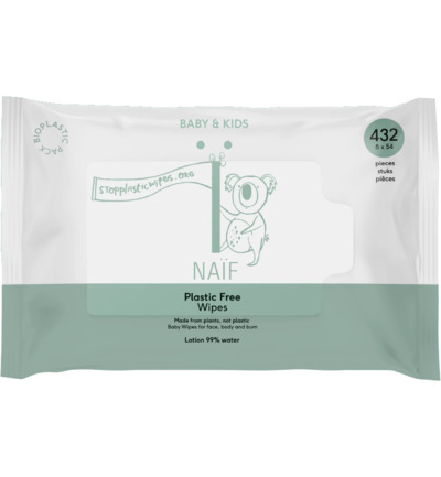 Baby wipes plastic free