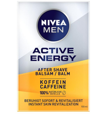 Men active energy 2 in 1 aftershave balsem