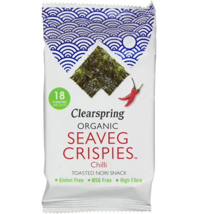 Seaveg crispies chilli