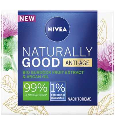 Naturally good nachtcreme anti age