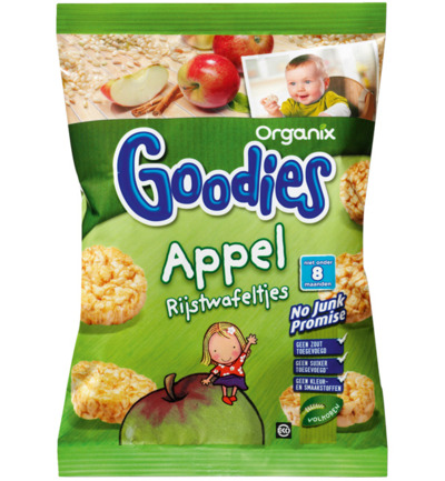 Apple rice cakes 7+ maanden bio