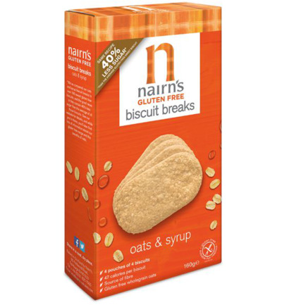 Biscuit breaks oats & syrup