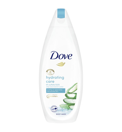 Shower hydrating care