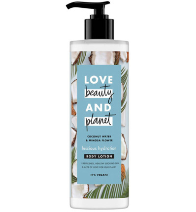 Body lotion luscious hydration