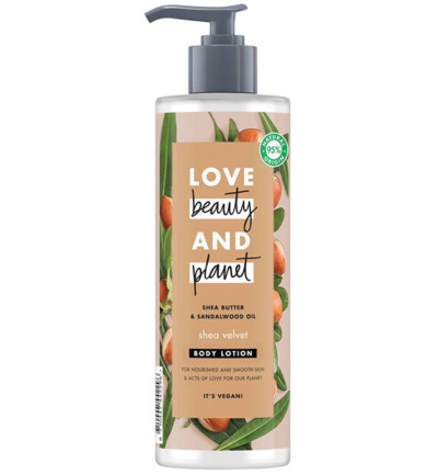 Body lotion shea velvet