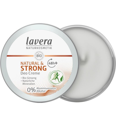 Deodorant creme natural & strong F-D