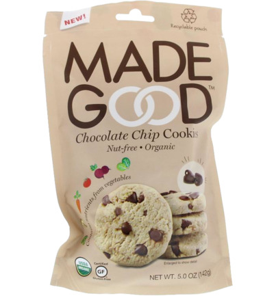 Crunchy cookies chocolate chip