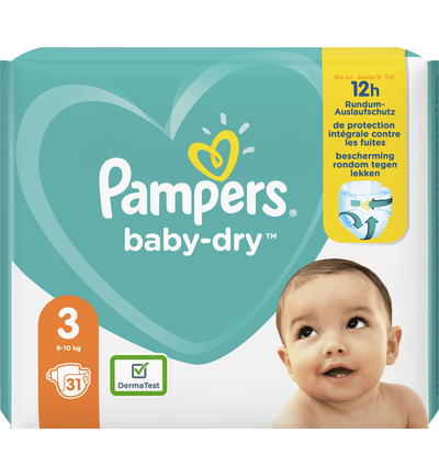 Baby dry midpack S3