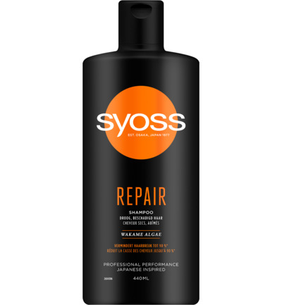 Shampoo repair therapy