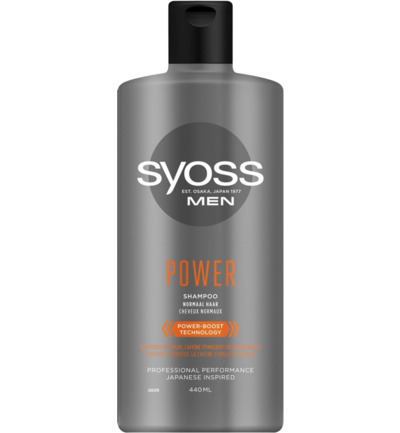 Shampoo men power & strength
