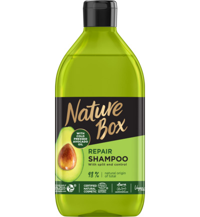 Shampoo avocado repair