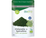 Chlorella & spirulina raw powder