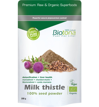 Milk thistle seed powder bio
