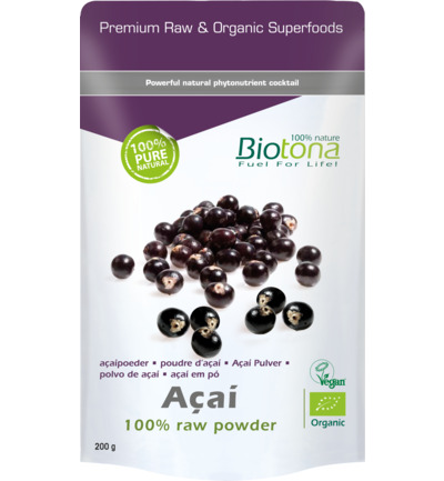 Acai raw powder bio