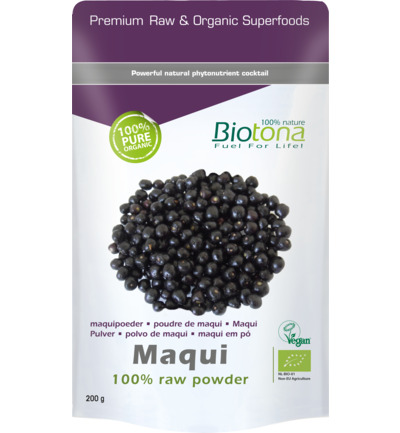 Maqui raw powder bio