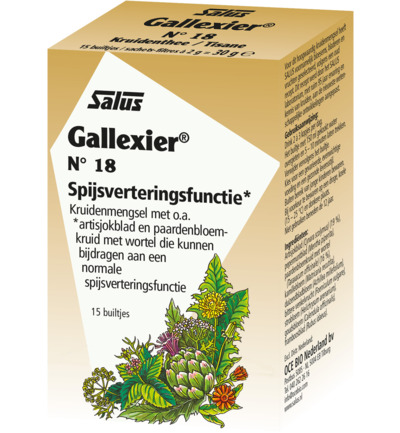 Kruidenthee 18 gallexier