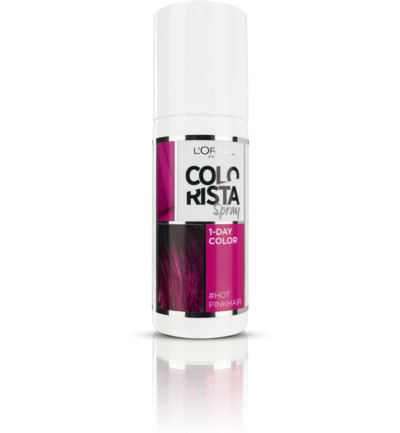 Colorista spray 1-day hot pink