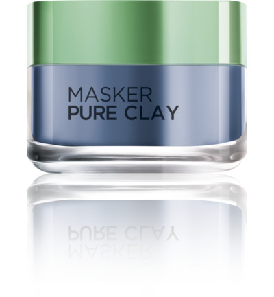 Anti-Imperfecties Masker Pure Clay blue