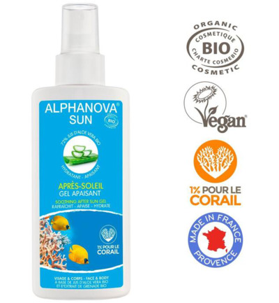Sun vegan after sun spray bio
