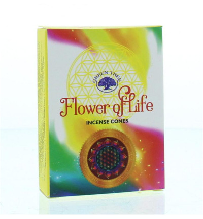 Kegelwierook flower of life