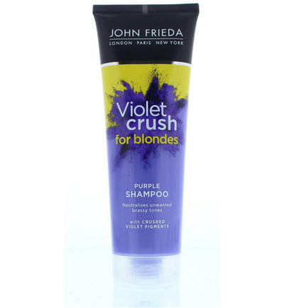 Violet crush purple shampoo
