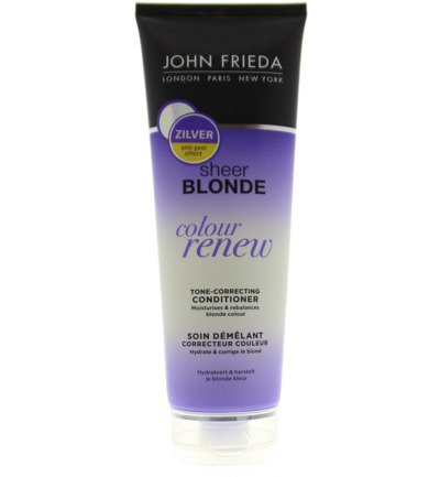 Colour renew tone correcting zilver conditioner