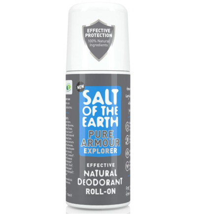 Salt of the Earth Natuurlijke Deodorant Armour Roll-On Men 75 ml