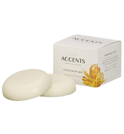 Accents waxmelts a touch of sun