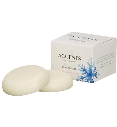 Accents waxmelts pure winter