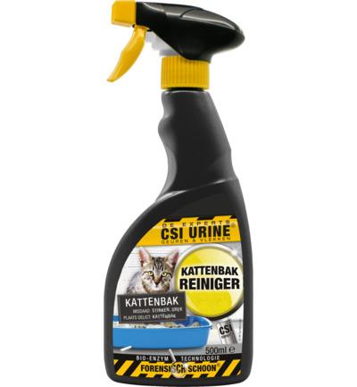 Kattenbak spray