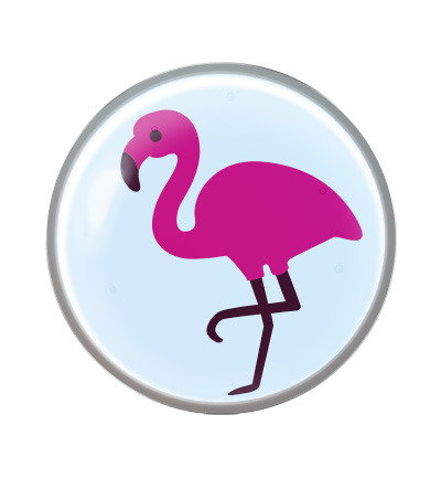 System 75 novelty flamingo chirurgisch staal