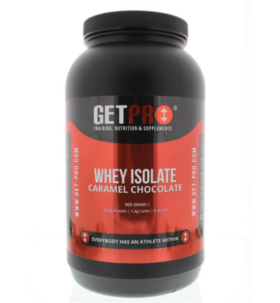 Whey isolate caramel chocolate