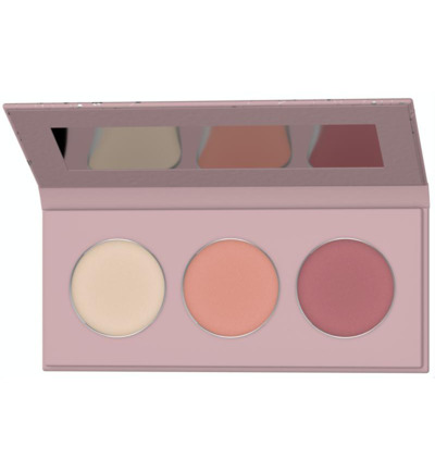 Blush mineral selection pastel coral bloom 02