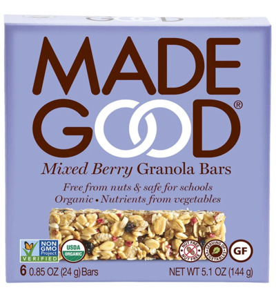 Granola bar mixed berries 24 gram bio