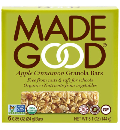 Granola bar apple cinnamon 24 gram bio