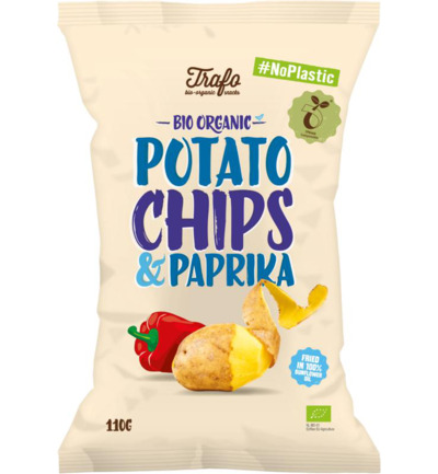 Chips paprika no plastic