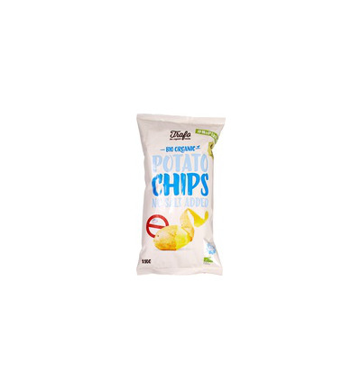 Chips zonder zout no plastic bio