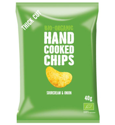 Chips handcooked sour cream & onion