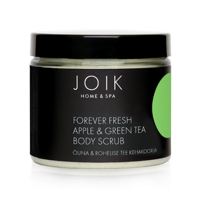 Bodyscrub forever fresh apple & green tea