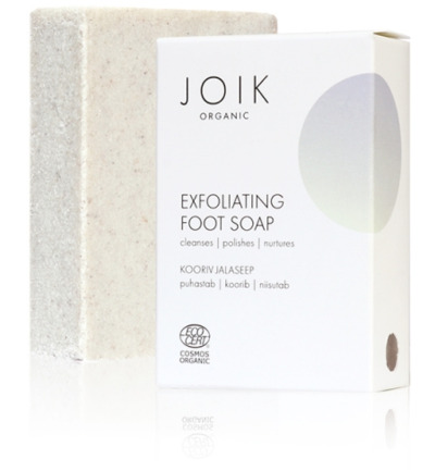 Exfoliating foot soap organic