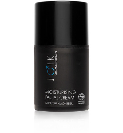Men moisturising day cream vegan