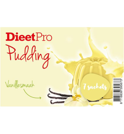 DieetPro Pudding vanille box
